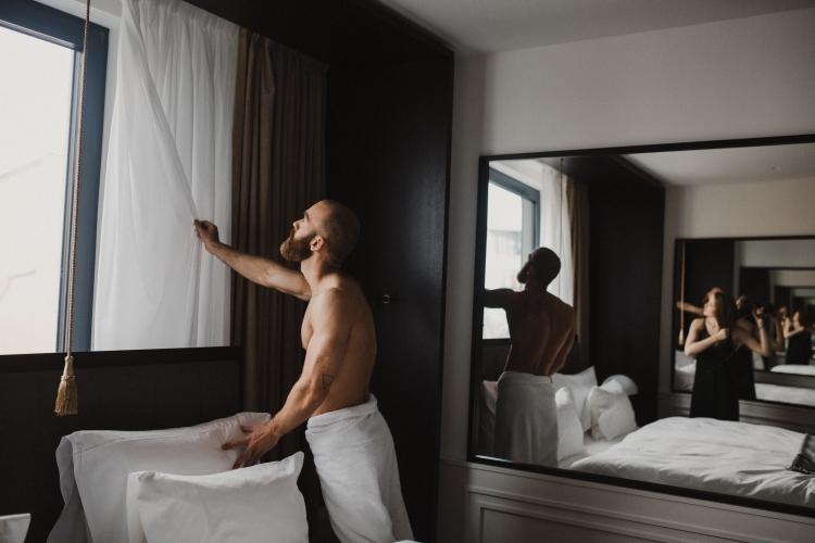 Paar Shooting Roomers Hotel München