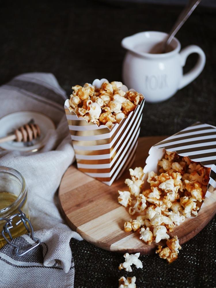 Selfmade Salted Caramel Popcorn