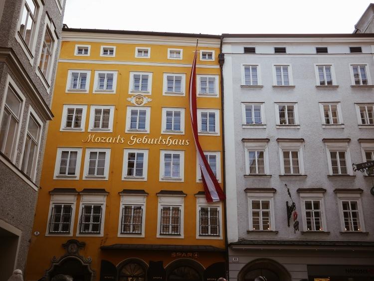 Salzburg Mozarts Geburtshaus