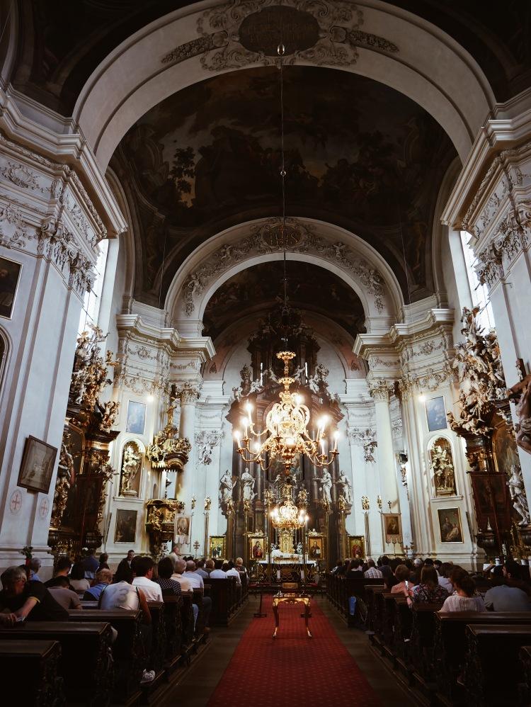 St. Clementinum Kirche Prag